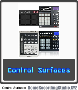 Control Surface - MIDI Controllers for DAW