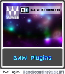 DAW Plugins for Digital Audio Workstation Music Recording Software. VST Instruments and VST Effects